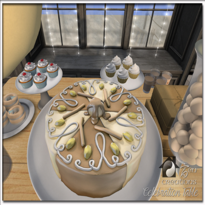 Zen Creations Celebration Table (Interactive & Color Change) 2