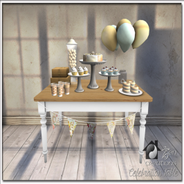 Zen Creations Celebration Table (Interactive & Color Change) 50